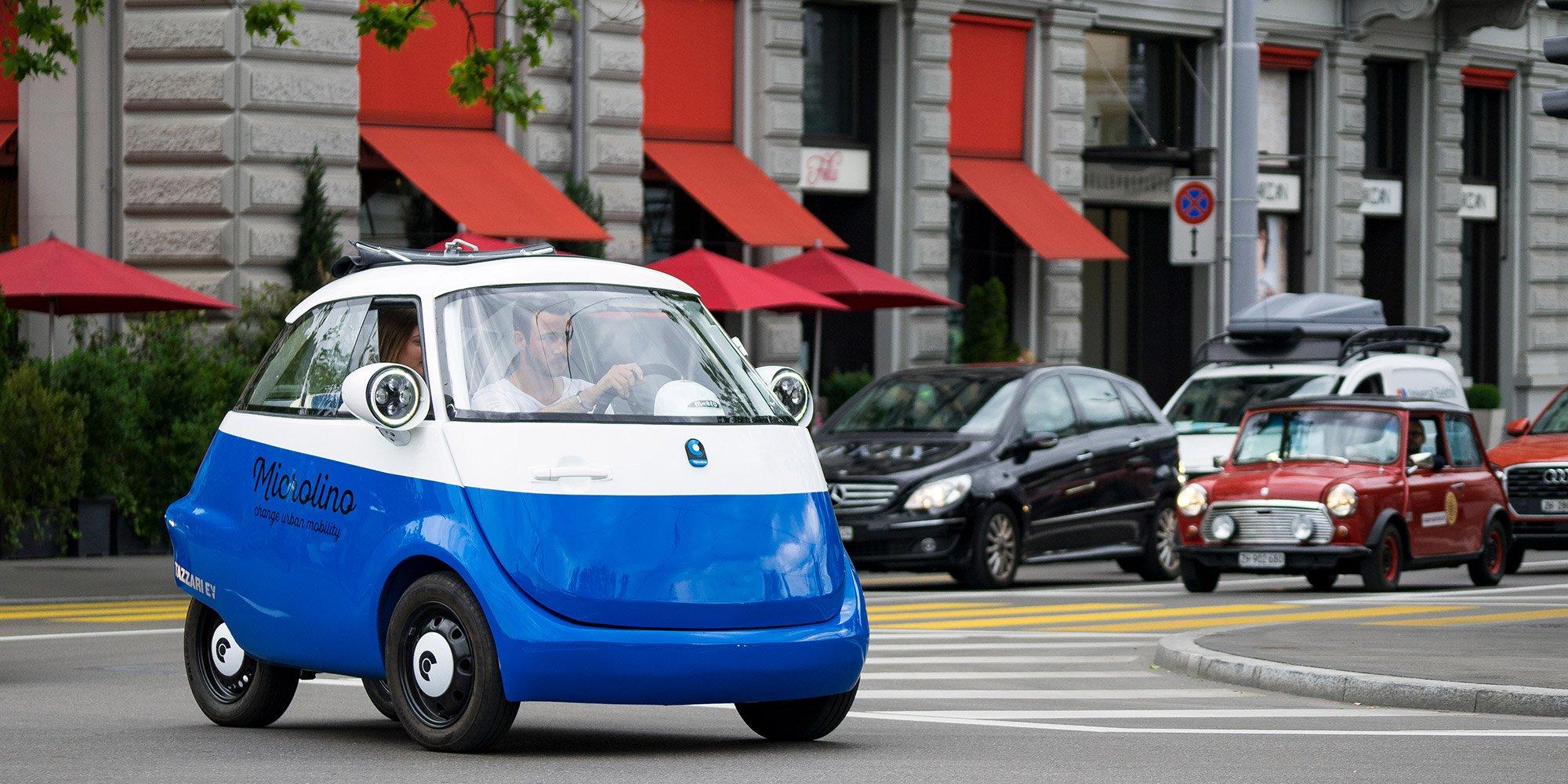 Micro Mobility's Microlino EV