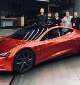 Elon Musk: 'SpaceX package' of next-gen Tesla Roadster will include rocket thrusters