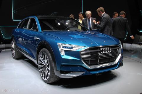 "Audi confirms ""over 400 kilometers"" expected range for e-tron Quattro SUV"