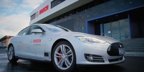Tesla blames Model S recall in March on Bosch's rusty bolts