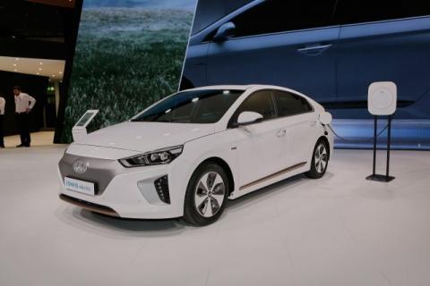 Hyundai Ioniq Electric leads Norwegian EV Association's winter test