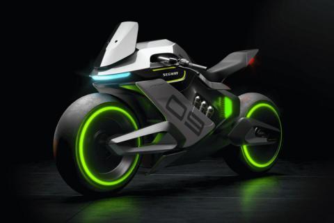 Segway's futuristic Apex H2 hybrid hydrogen e-bike to offer unique features & longer range